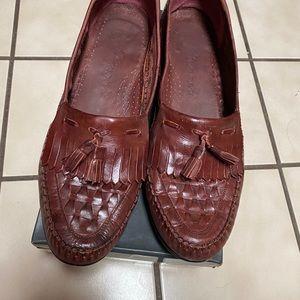 Giovanni men's leather shoes sz 12M